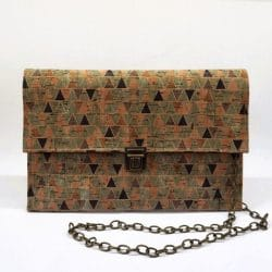 Cork Clutch-Chic Bag-Eco Friendly Purse-Vegan Bag