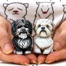 Cork Dog sculpture carving