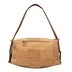 Cork Handbag, Vegan Gift, Half Moon Style