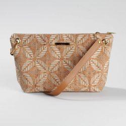 Cork bag, cork and canvas bag