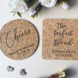 Custom Coasters for Wedding