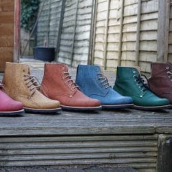 Eco-Friendly Boots - Cork Leather