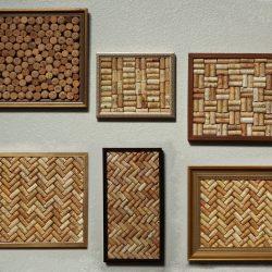 Framed cork art