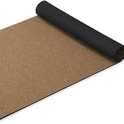 Gaiam Cork Yoga Mat Natural Sustainable Cork Resists Germs and Odor
