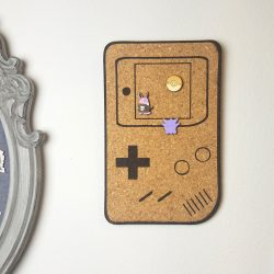 Gameboy Cork Board