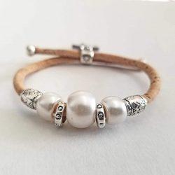 Handmade Cork Bracelet for Kids