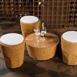 Japan Cork Coffee Table