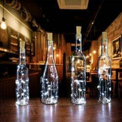 LED Wine Bottle Cork Lights