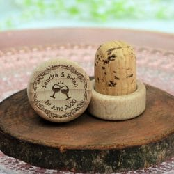 wedding favor cork top