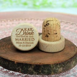 custom wine stoppers