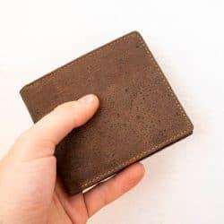Mens Vegan Cork Wallet, Gift For Men