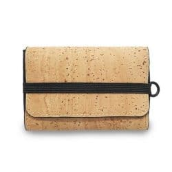 Mens cork leather wallet