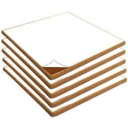 Natural Fine Grain Cork Sheets with Adhesive Backing