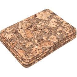 Rectangular Cork Placemats Table