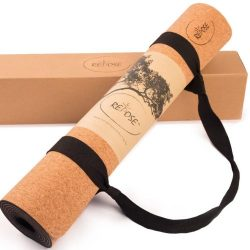 Repose Eco-Friendly Yoga mat, Responsibly Sourced Cork & Natural Rubber