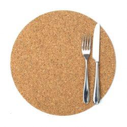 Round Cork Placemats