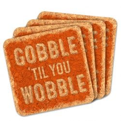 Thanksgiving Favor Coasters