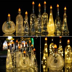 Torch Bottle Lights with Cork