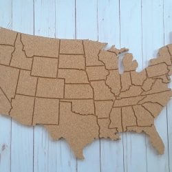 USA cork board