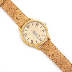 Vegan Cork Watch, Unisex Organic, sustainable