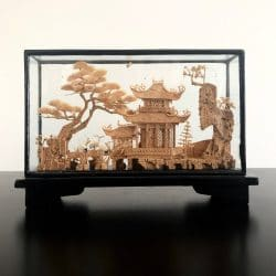 Vintage, Cork Carving, Asian Interiors
