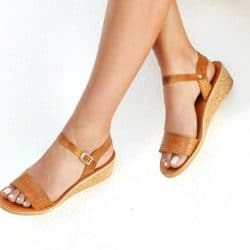 Wedges Cork Sandals