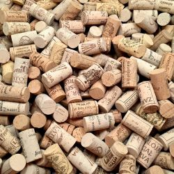 Wine Corks New, Authentic, Natural Printed Winery Marked