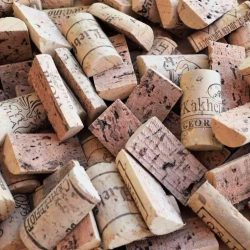 halves of corks brand new for crafts
