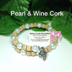 Wine Cork Bracelets, Wine Lover Gifts