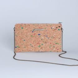 woman cork bag