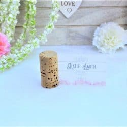 Wedding Cork Place Card Holders